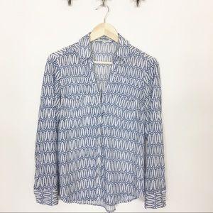Express Portofino Eiffel Tower Button Down Shirt